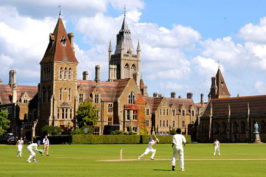 Bevan Wilson at Charterhouse School