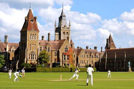 Bevan Wilson at Charterhouse School